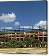 Home Of The Texas Rangers Canvas Print