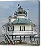 Hooper Straight Lighthouse Canvas Print