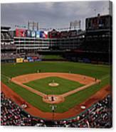 Houston Astros V Texas Rangers Canvas Print