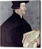Huldreich Zwingli (1484-1531) Canvas Print