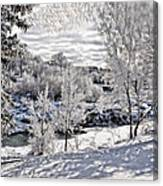 Idaho Falls Canvas Print