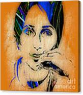 Joan Baez Collection Canvas Print