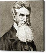 John Brown, American Abolitionist Canvas Print