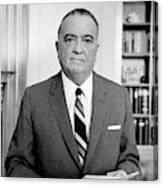 John Edgar Hoover (1895-1972) Canvas Print