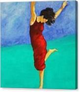 Jump Of Joy Canvas Print