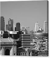 Kansas City Skyline Canvas Print