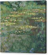 Le Bassin Des Nympheas Canvas Print