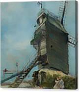 Le Moulin De La Galette Canvas Print