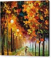 Light Of Autumn Canvas Print