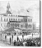 Lincoln's Funeral, 1865 Canvas Print