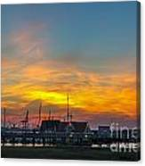 Harbor Lowcountry Sunset Canvas Print