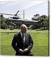 Marine One Canvas Print