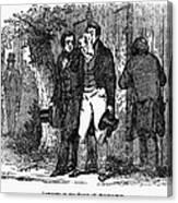 Marquis De Lafayette Canvas Print