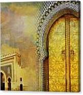 Medina Of Faz Canvas Print