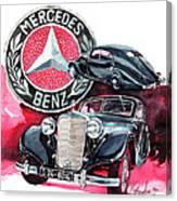 Mercedes Benz 320 Streamline Canvas Print