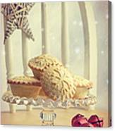 Mince Pies Canvas Print