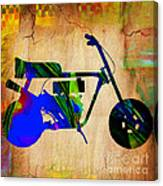 Mini Bike Canvas Print