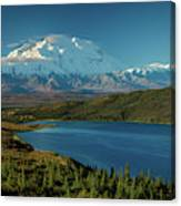Mount Denali, Previously Known Canvas Print