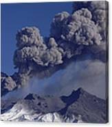Mt Ruapehu 1996 Eruption New Zealand Canvas Print