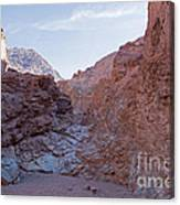 Natural Bridge Canyon Death Valley National Park Canvas Print