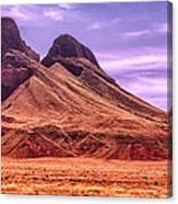 Navajo Nation Series Along 87 And 15 Canvas Print