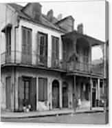 New Orleans House Canvas Print