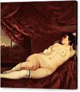 Nude Art Canvas Print