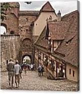Nurnberg Germany Castle Canvas Print