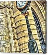 4 O'clock Train Canvas Print