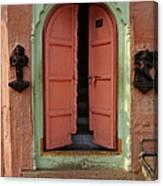 Old Doors India, Varanasi Canvas Print