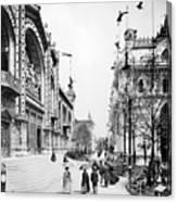 Paris Exposition, 1889 Canvas Print