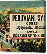 Patent Medicine Canvas Print