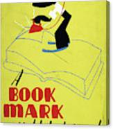 Poster Books, C1938 Canvas Print