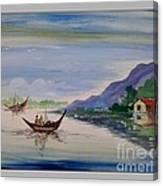 Nature- Poster Colour Painting Canvas Print