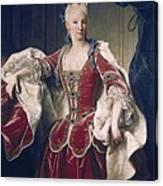 Ranc, Jean 1674-1735. Portrait Canvas Print
