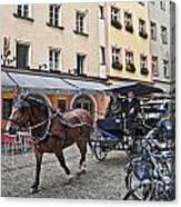 Regensburg Germany Canvas Print