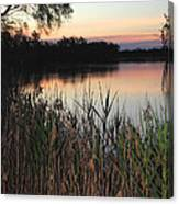 River Murray Sunset Series 1 Canvas Print