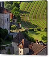Saint Cirq Lapopie Canvas Print