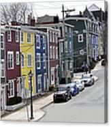 Saint John's. Newfoundland. Canvas Print