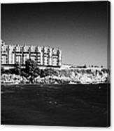 Salou Waterfront Properties On The Costa Dorada Catalonia Spain Canvas Print