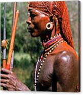 Samburu Warrior Canvas Print