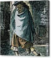 Samuel Pepys (1633-1703) Canvas Print