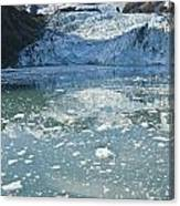 Scenic View Of Stairway Glacier R Canvas Print