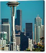 Seattle Skyline Canvas Print
