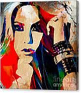 Shakira Collection Canvas Print