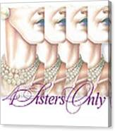4 Sisters Only Canvas Print