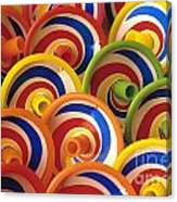 Spinning Tops Canvas Print