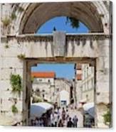 Split, Croatia Canvas Print