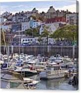 St Peter Port - Guernsey Canvas Print
