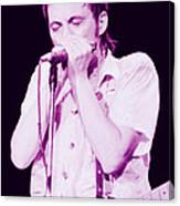 Steve Marriott - Humble Pie At The Cow Palace S F 5-16-80 Canvas Print